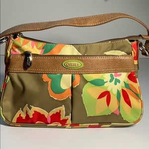 Oilily Green Floral Bag🌺